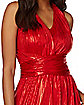 Adult Red Endless Dress