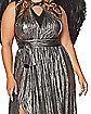 Adult Black Endless Plus Size Dress