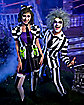 Adult Beetlejuice Striped Suit