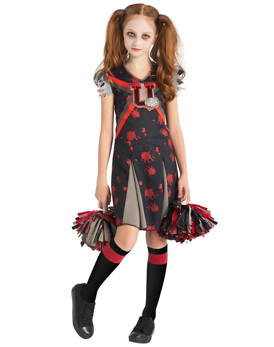 Kids Dreadful Zombie Cheerleader Costume