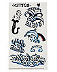 Harley Quinn Tattoo Set - Birds of Prey