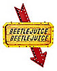 Light-Up LED Hanging Marquee Beetlejuice Sign