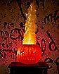 Light-Up Flaming Pumpkin Decorations - Trick 'r Treat