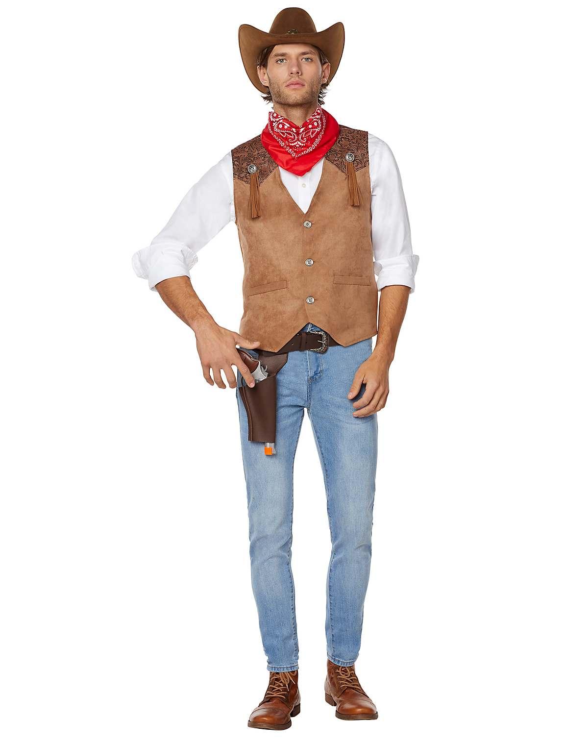Western cowboy costume kit