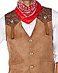 Adult Western Cowboy Plus Size Costume Kit