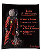 Rules of Halloween Fleece Blanket - Trick 'r Treat