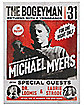 Michael Myers Poster - Halloween