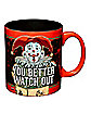 Watch Out Jack in the Box Mug 20 oz. - Krampus
