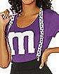 Adult Purple M&M'S Costume Kit