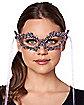 Mystical Diamond Eye Half Mask