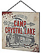 Welcome to Camp Crystal Lake Sign - Friday the 13th