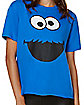 Adult Cookie Monster T Shirt - Sesame Street