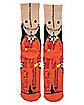 Sam Face Crew Socks - Trick 'r Treat