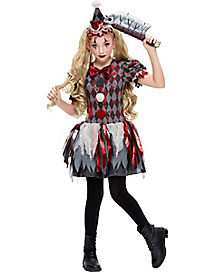Girls Clown Halloween Costumes Spirithalloween Com