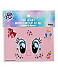 Pinkie Pie Face Decals - My Little Pony