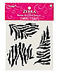 Zebra Temporary Tattoos