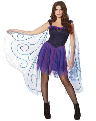 Fairy Costume for Youth and Adults Purple and Green Fairie Dress