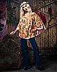 Adult Flower Child Costume Kit