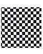 Black and White Checkered Bandana