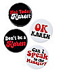 Karen Buttons 4 Pack