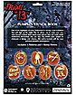 Friday the 13th Pumpkin Stencil Book