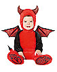 Baby Red Devil One Piece Costume