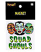 Squad Ghouls Halloween Magnet