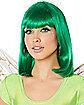Green Pageboy Wig