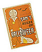 Sam Rules of Halloween Journal - Trick 'r Treat
