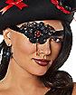 Jeweled Pirate Eye Patch