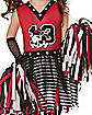 Toddler Zombie Cheerleader Costume
