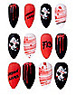 Jason Voorhees Press On Nails - Friday the 13th