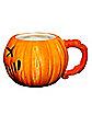 Molded Pumpkin Mug 30 oz. - Trick 'r Treat