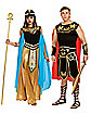 Adult Blue and Gold Cleopatra Costume