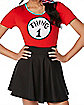Adult Thing 1 and Thing 2 Costume Kit - Dr. Seuss