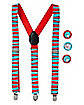 Thing 1 and Thing 2 Suspenders - Dr. Seuss