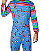 Adult Chucky Plus Size Costume - Seed of Chucky