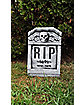 22 Inch RIP Skull Tombstone - Decorations
