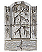 21 Inch Scratched Tombstone - Decorations