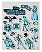 Glow In The Dark The Haunted Mansion Window Clings - Disney