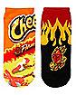 Cheetos No Show Socks - 2 Pair