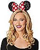 Adult Minnie Mouse Sequin Headband Deluxe - Disney