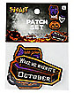 Halloween Patch Set - 4 Pack