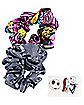 The Nightmare Before Christmas Scrunchies and Temporary Tattoos