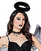 Adult Fallen Angel Plus Size Costume Kit