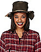 Burlap Scarecrow Hat