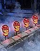 Burning Skull Pathway Markers