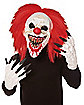 Crouchy the Clown Mask with Hands