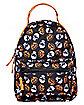 Skull and Pumpkin Mini Backpack