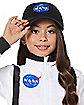 Kids White NASA Jumpsuit Costume